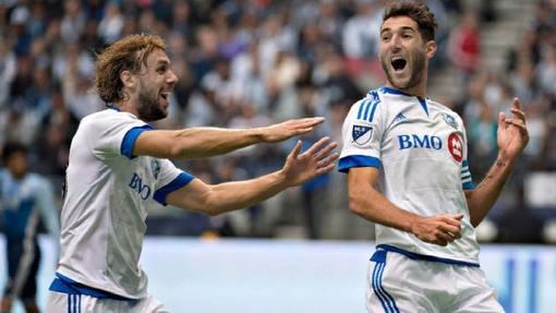 Футболисты «Монреаля»