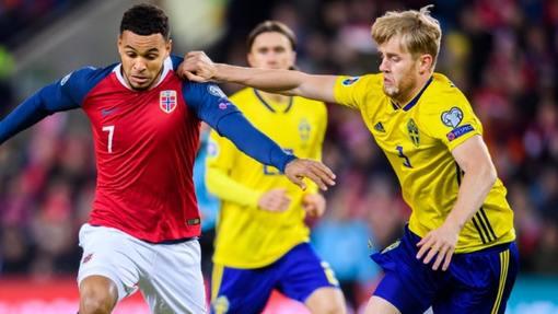 Швеция и Норвегия три раза подряд играли вничью