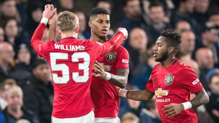 Манчестер юнайтед выигрывала командами и проигрывала