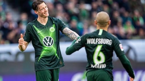Футболисты «Вольфсбурга»