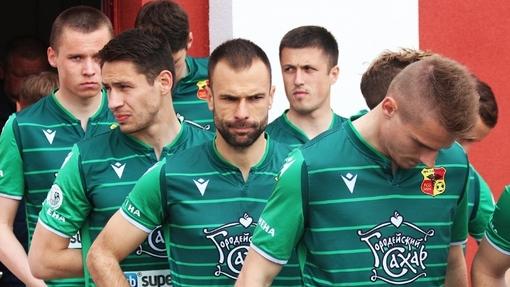 Футболисты команды «Городея»