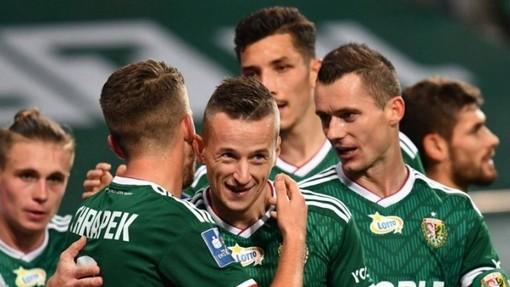 Футболисты «Шленска»