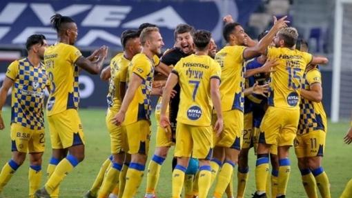 Футболисты «Маккаби» Тель-Авив