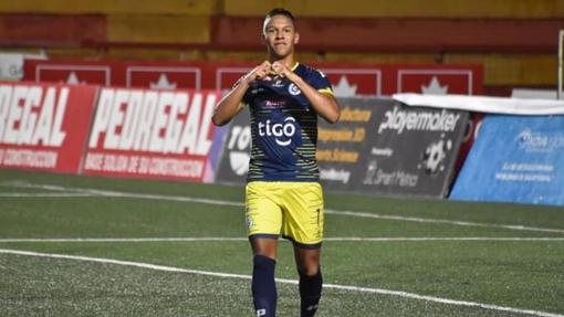 Футболист команды «Гуадалупе»