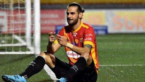 Футболист команды «Эредиано»