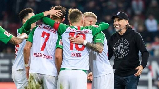 Футболисты «Аугсбурга»
