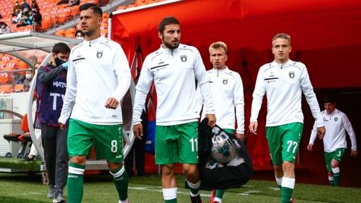 Футболисты команды «Рубин»