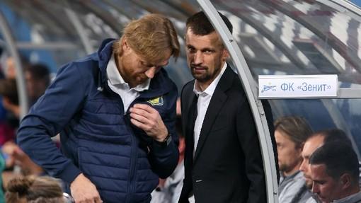 Валерий Карпин против Сергея Семака