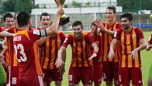 Футболисты команды «Алания»