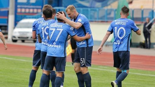 Футболисты команды «Динамо» Брест