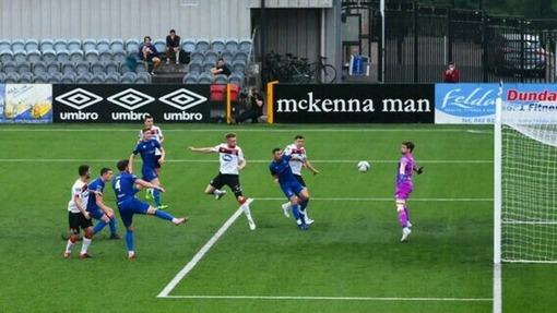 «Дандолк» забивает гол в ворота «Уотфорд» (11.08.2020)