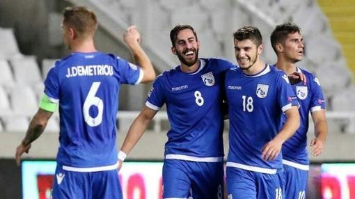 Игроки сборной Кипра