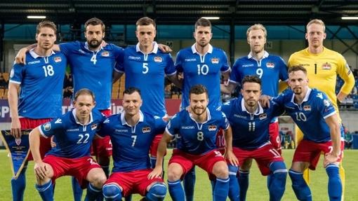 Футболисты сборной Лихтенштейна