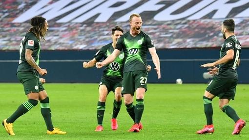 Футболисты команды «Вольфсбург»