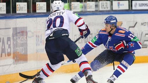 Эпизод прошлогоднего матча СКА — «Сибирь»
