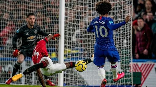 Игровой эпизод прошлогоднего матча «Челси» — МЮ