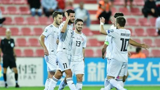 Игроки сборной Грузии