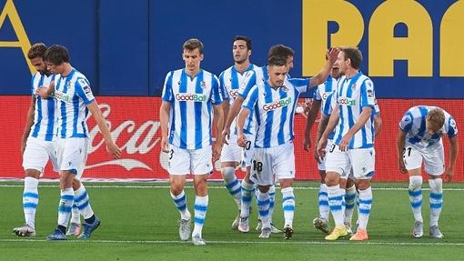 Футболисты команды «Реал Сосьедад»