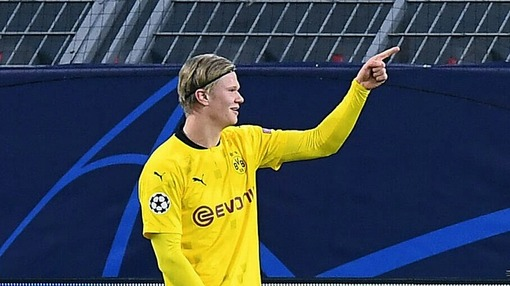 Эрлинг Холанд («Боруссия») — 12 забитых за 7 последних матчей